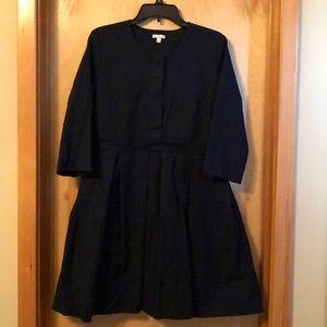 Long sleeve 100% cotton. Navy Blue